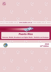 Puerto Rico-Telecoms, Mobile, Broadband and Digital Media-Statistics and Analyses